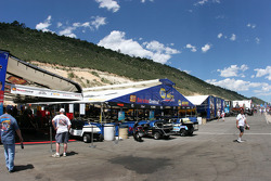 The Rocky Mountains form the backdrop at Bandimere Speedway