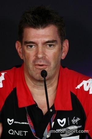 Graeme Lowden, Virgin Racing director of racing