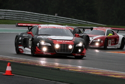 #33 Audi Sport Team WRT Audi R8 LMS: Mattias Ekström, Greg Franchi, Timo Scheider
