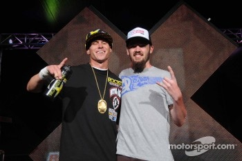 Brian Deegan's victory at X Games 17 resulted in a lucky fan winning a Ford Fiesta