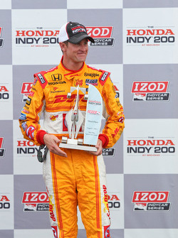 Third place Ryan Hunter-Reay