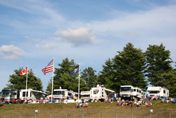Fans at New Hampshire International Speedway