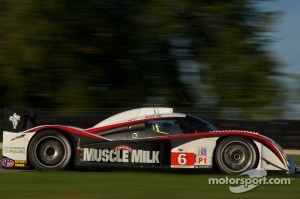#6 Muscle Milk Aston Martin Racing AMR/Lola Coupe B08 62: Lucas Luhr, Klaus Graf