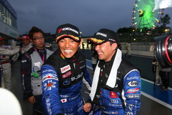 GT300 winners Tetsuya Yamano, Kota Sasaki