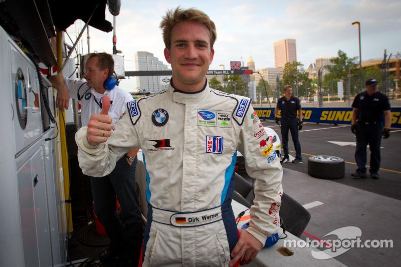 GT pole winner Dirk Werner