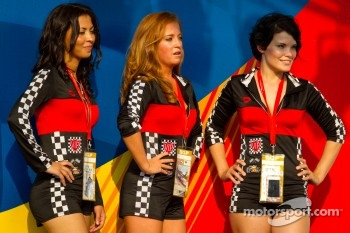 Podium: the lovely podium girls