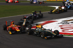 Esteban Gutierrez leads Dani Clos and Luiz Razia