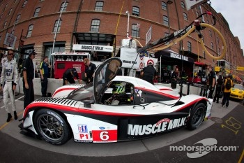 #6 Muscle Milk Aston Martin Racing AMR/Lola Coupe B08/62: Klaus Graf, Romain Dumas