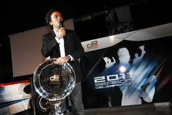 Alejandro Agag, Addax collecting the GP2 team champions trophy