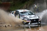 Michal Kosciuszko and Maciej Szczepaniak, Mitsubishi Lancer Evo X, Lotos Dynamic Rally Team