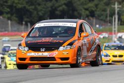 #77 Compass360 Racing Honda Civic SI: Andrew Novich, Bryan Ortiz