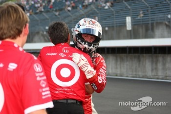 Pole winner Scott Dixon, Target Chip Ganassi Racing