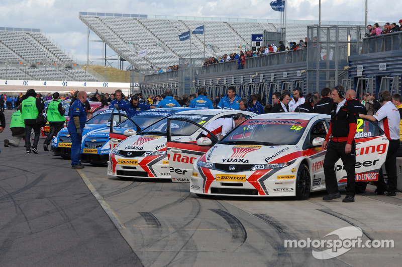 Honda Racing and Silverline Chevrolet