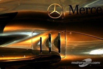 Mercedes GP Technical detail