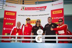 Team award winner: #77 Ferrari of Silicon Valley Ferrari 458 Challenge: Harry Cheung, #4 Ferrari of Silicon Valley Ferrari F430 Challenge: Chris Ruud