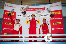 430 podium: class winner #4 Ferrari of Silicon Valley Ferrari F430 Challenge: Chris Ruud, second place #91 Ferrari of Ft. Lauderdale Ferrari F430 Challenge: Guy Leclerc, third place #31 Ferrari of Ontario Ferrari F430 Challenge: Damon Ockey