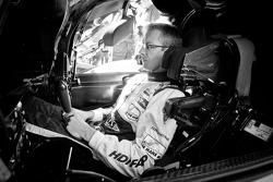 Sébastien Bourdais focuses moments before the start