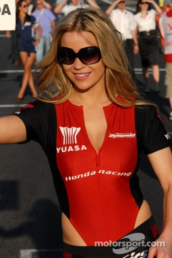 Honda Racing Grid Girl