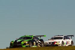 #99 Jaguar RSR Jaguar XKR: Bruno Junqueira, Ken Wilden, Ian James, #56 BMW Motorsport BMW M3 GT: Dirk Müller, Joey Hand, Andy Priaulx