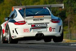 #6 Muscle Milk Team Cytosport Porsche 911 GT3 Cup: Mark Bullitt