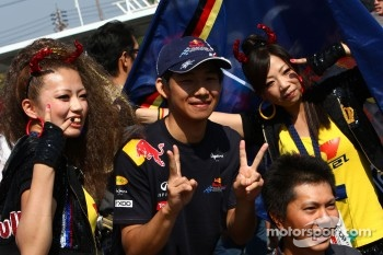 Fans of Red Bull Racing