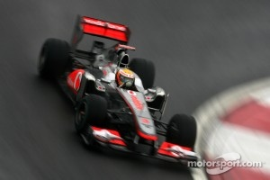 Lewis Hamilton was the fastest man of the day