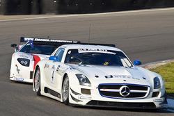 #4 Graff Racing  Mercedes-Benz SLS AMG GT3: Philippe Giaque/Thomas Jäger