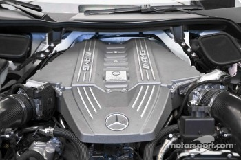 AMG Mercedes 6.3L V8 engine as fitted to SLS AMG GT3