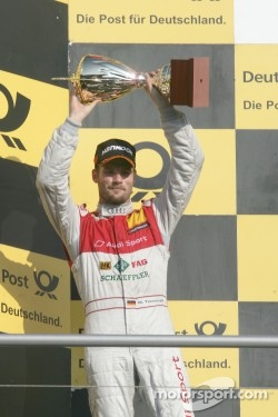 2nd Martin Tomczyk, Audi Sport Team Phoenix, Audi A4 DTM