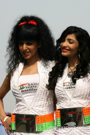 Force India Racing Team, girls