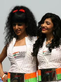 Force India Racing Team, girls
