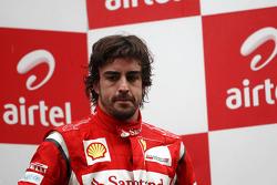 Podium: third place Fernando Alonso, Scuderia Ferrari