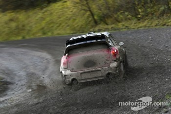 The MINI WRC is tested in Wales