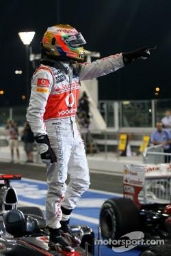 Finally a win again for Lewis Hamilton