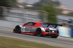 #97 Adui Race Experience CHN Audi R8 LMS: Jeffrey Lee, Florian Gruber, Hing Tak Mak