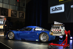Corvette Daytona Prototype presentation