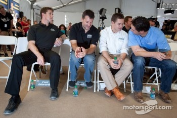 Championship contenders press conference: Carl Edwards, Tony Stewart, Ricky Stenhouse Jr. and Elliott Sadler