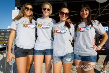 NASCAR Championship Drive in South Beach: charming hostesses
