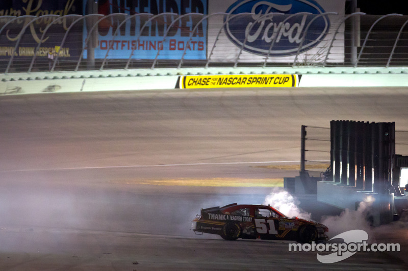 Landon Cassill, Chevrolet crashes