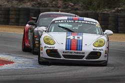Robert Schneider 2011 Martini Porsche Cayman Interseries