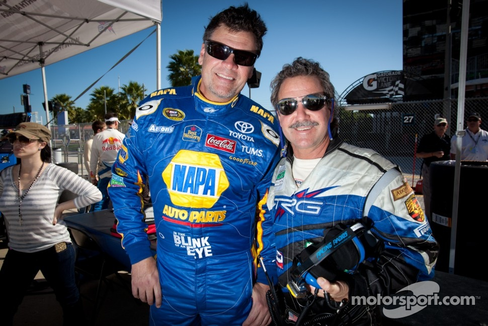 Michael Waltrip and Kevin Buckler