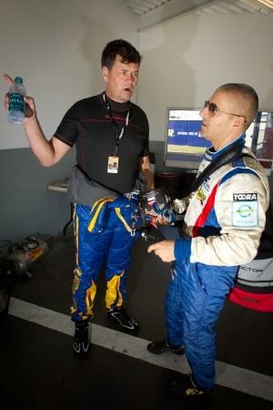 Michael Waltrip and Rui Aguas