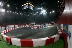 Track atmosphere. Palais Omnisport de Paris-Bercy.