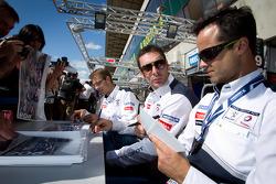 Sébastien Bourdais, Simon Pagenaud, Pedro Lamy
