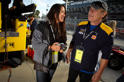 Brian Johnson with his wife Brenda