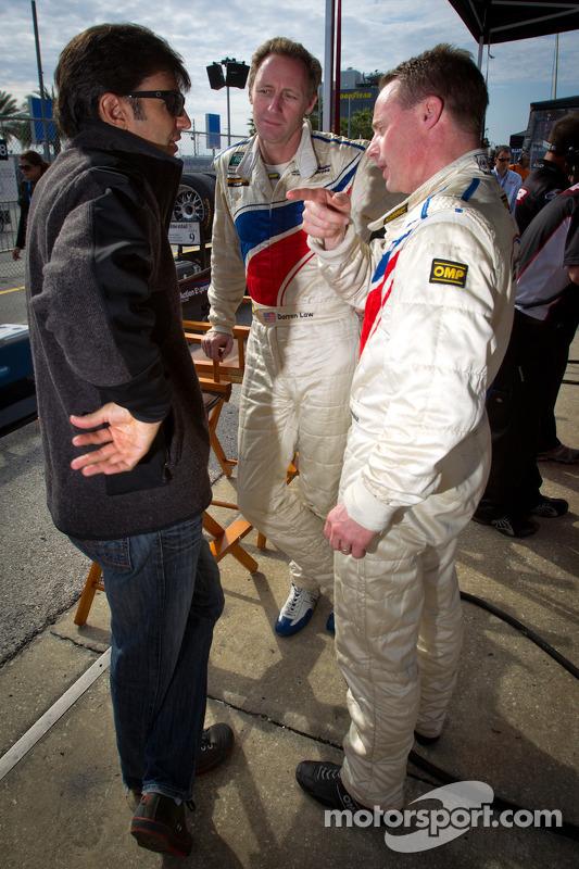 Christian Fittipaldi, Darren Law and David Donohue