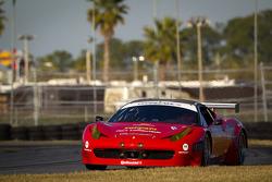 #62 Risi Competizione Ferrari 458: Raphael Matos, Giancarlo Fisichella, Gianmaria Bruni