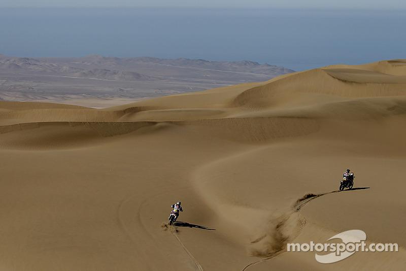 #1 KTM: Marc Coma and #2 KTM: Cyril Despres