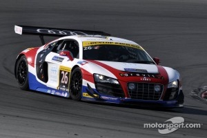 United Autosports Audi R8 GT3 LMS: Matt Bell, Mark Patterson and Will Bratt.