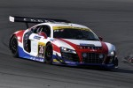 #26 United Autosports Audi R8 GT3 LMS: Frank Yu, Matt Bell, Mark Patterson, Roger Willis